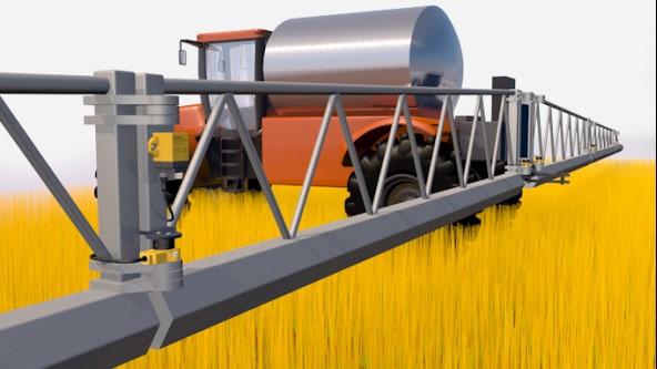 Angle Measurement on a Sprayer Boom - Turck USA