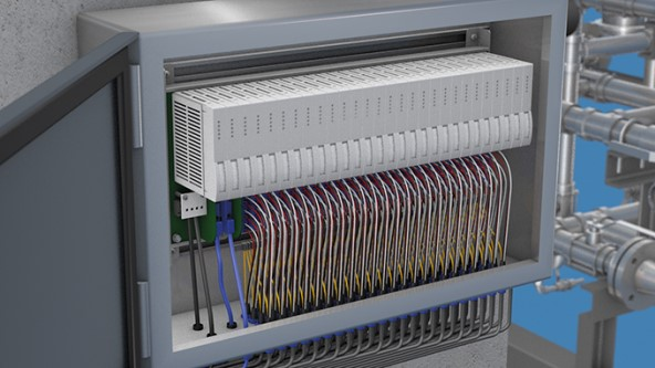 remote signal i o turck usa  excom as a remote i o solution saves space in the control cabinet